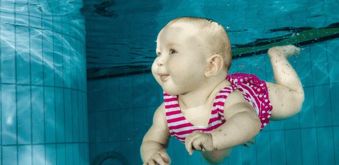 Zápis plavání kojenců, batolat a rodičů s dětmi