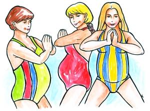 Plavání pro těhotné začíná od května